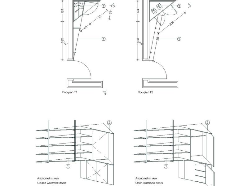 Shelves design